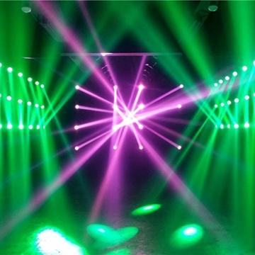 Lixada 35W DMX512 Moving Head 9 / 11 Kanäle Klangregelung Automatisch Rotierenden LED Bühne Muster Lampe