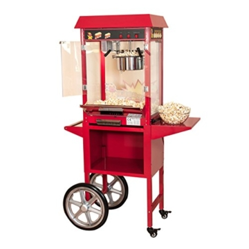 Popcornmaschine Kirmes XXL mit Wagen